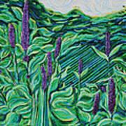 Garden Mint Art Print