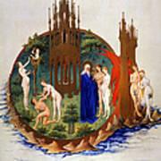 Garden Of Eden: Adam & Eve Art Print