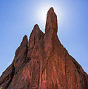Garden Of The Gods - Colorado Springs Art Print