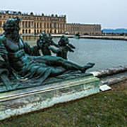 Garden Of Versailles Art Print