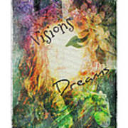 Garden Of Visions And Dreams Art Print