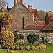 Garden Of Winchester Art Print