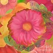 Garden Party II  Art Print