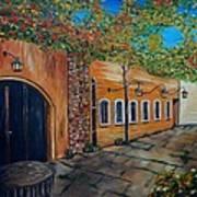 Garden Patio Art Print