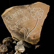 Garden Signs Art Print by The Stone Age