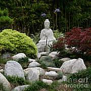 Garden Statue Art Print