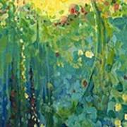 Garden Sunrise Art Print