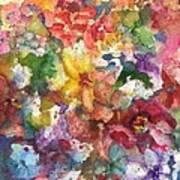 Garden - The Secret Life Of The Leftover Paint Art Print