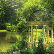 Garden - The Temple Of Love Print by Mike Savad