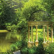 Garden - The Temple Of Love Art Print