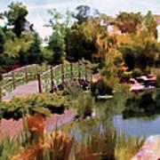 Japanese Gardens - Garden View Series 05 Art Print