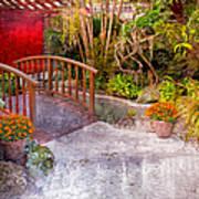 Garden View Series 25 Art Print