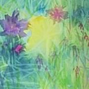 Garden Vortex Art Print
