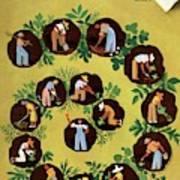 Gardeners And Farmers Art Print