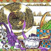 Gardener's Basket Art Print