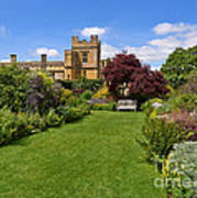 Gardens Of Sudeley Castle In The Cotswolds Art Print