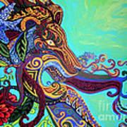 Gargoyle Lion 3 Art Print