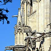 Gargoyles Of Notre Dame De Paris Art Print