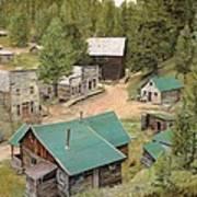 Garnet In Montana Art Print