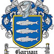 Garvan Coat Of Arms Irish Art Print