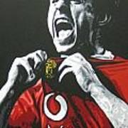 Gary Neville - Manchester United Fc Art Print