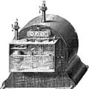 Gas Meter Art Print