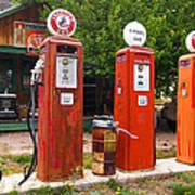 Gas Museum Embudo New Mexico Art Print