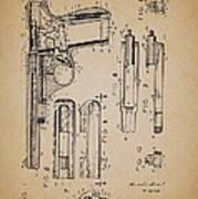 Gas Operated Semi-automatic Pistol Art Print