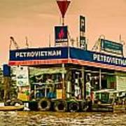 Gas Station Vietnam Style Art Print