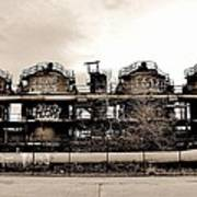 Gasworks Seattle Art Print by Benjamin Yeager