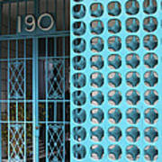 Gate 190 Palm Springs Art Print