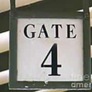 Gate #4 Art Print