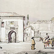 Gate Of The Vine , From Sketches Art Print