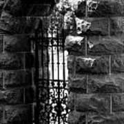 Gate To Grave  Art Print