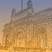 Gate Way Of India Art Print
