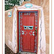 Gates Of Santa Fe 3 Art Print