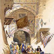 Gateway Of A Bazaar, Grand Cairo, Pub Art Print