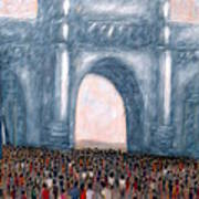 Gateway Of India Mumbai 2 Art Print