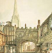Gateway To The Close, Salisbury Art Print