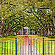 Gateway To The Old South Paint Art Print by Steve Harrington