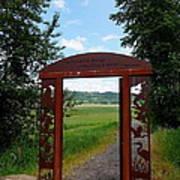 Gateway To The Trail Art Print by Lizbeth Bostrom