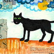 Gato Mexico Art Print