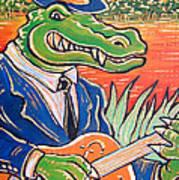 Gator Boogie Art Print