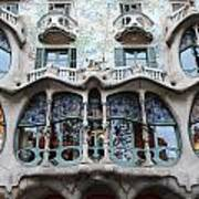 Gaudi Architecture 3 Barcelona Spain Art Print