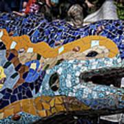 Gaudi Dragon Art Print