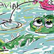 Gavial Art Print