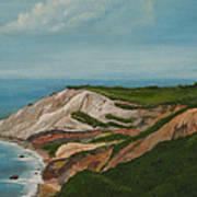 Gay Head Cliffs Art Print