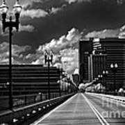 Gay Street Bridge - Knoxville Art Print