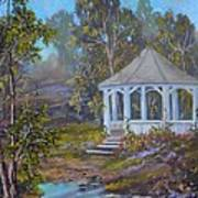 Gazebo And A Dream Art Print by Michael Mrozik