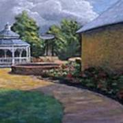 Gazebo In Potter Nebraska Art Print by Jerry McElroy